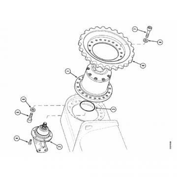 Case CX23 Hydraulic Final Drive Motor